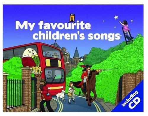 Könyv - My Favourite Childrens songs CD-vel