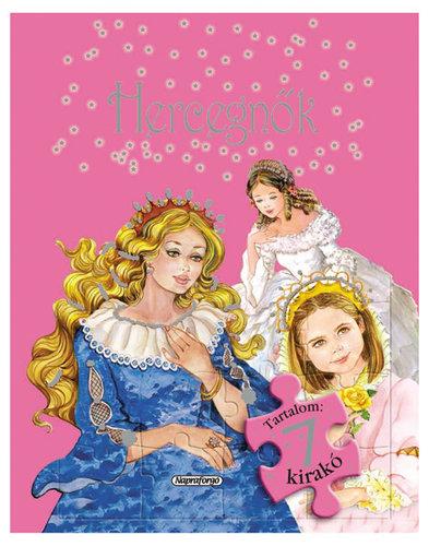 Könyv - Fantasztikus kirakós mesék - Hercegnők