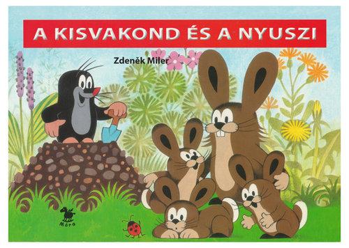 Könyv - A kisvakond és a nyuszi