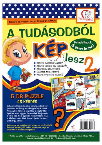 Könyv - A tudásodból kép lesz 2. Feladatlapok