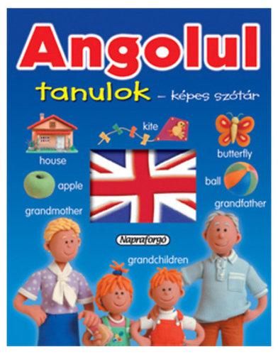Könyv - Angolul tanulok - Képes szótár