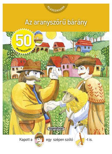 Könyv - Aranyszőrű bárány matricával