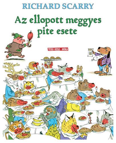 Könyv - Az ellopott meggyes pite esete