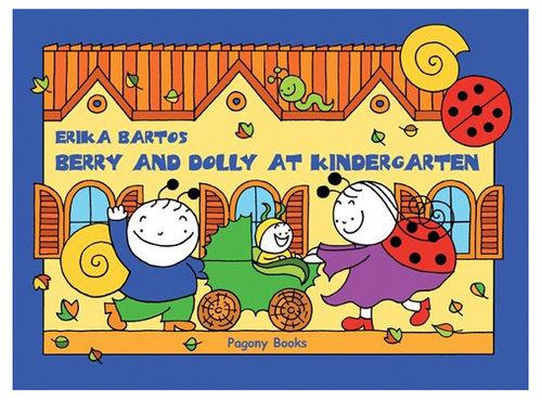 Könyv - Bogyó és Babóca az óvodában angolul