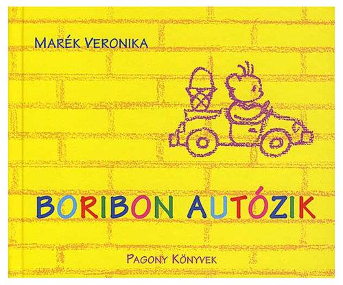 Könyv - Boribon autózik