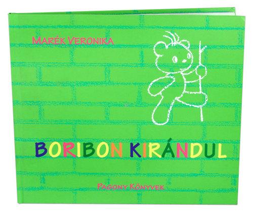 Könyv - Boribon kirándul