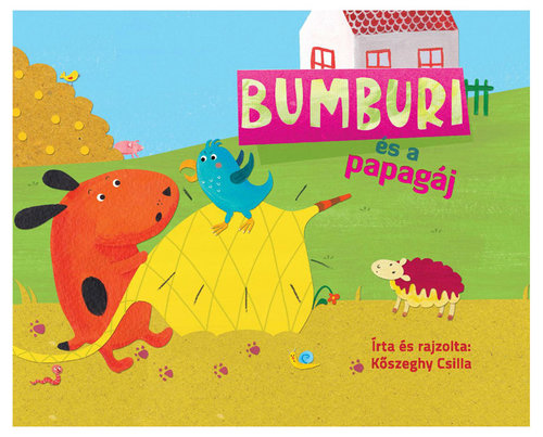 Könyv - Bumburi és a papagáj