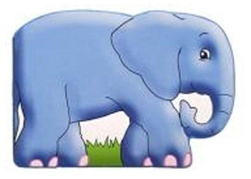 Könyv - Chunky animal board books Elefánt - angol nyelvű gyerekkönyv