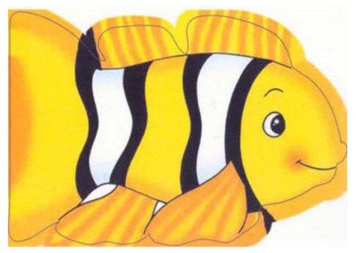 Könyv - Chunky animal board books Hal - angol nyelvű gyerekkönyv