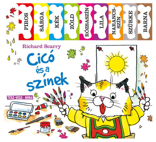 Könyv - Cicó és a színek
