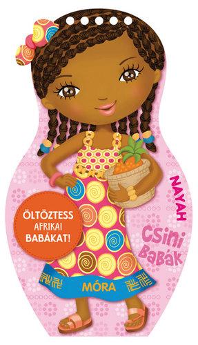 Könyv - Csini babák - Öltöztess afrikai babákat!