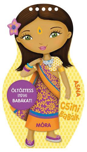 Csak Klubtagoknak! Könyv - Csini babák - Öltöztess indiai babákat!