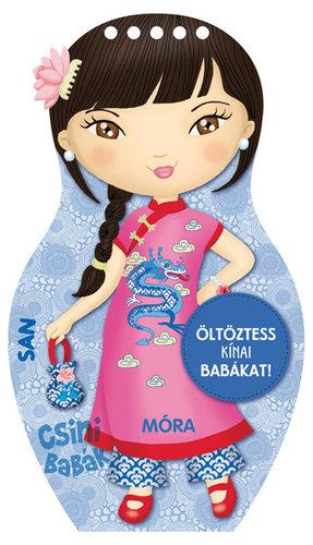 Könyv - Csini babák - Öltöztess kínai babákat!
