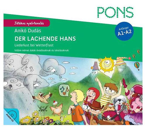 Könyv - Der lachende Hans + CD - német nyelvű gyerekkönyv