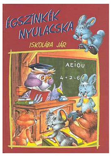 Könyv - Égszínkék nyulacska iskolába jár