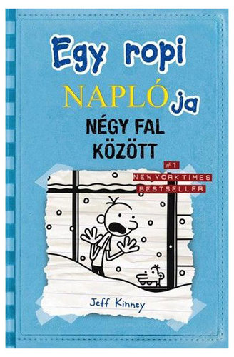 Könyv - Egy ropi naplója: Négy fal között