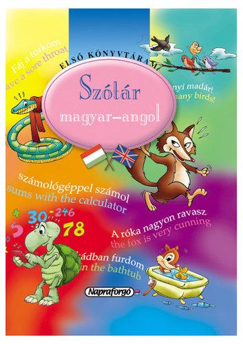 Könyv - Első könyvtáram/Szótár: Magyar-Angol