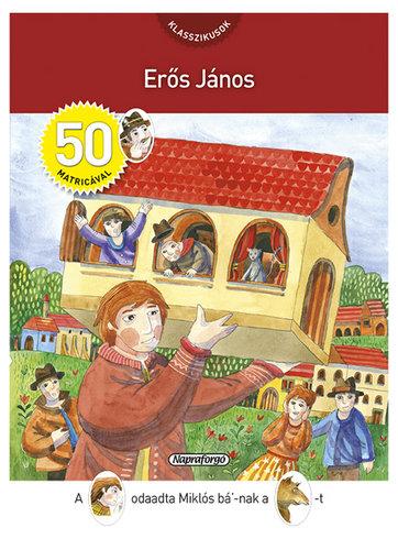 Könyv - Erős János matricával