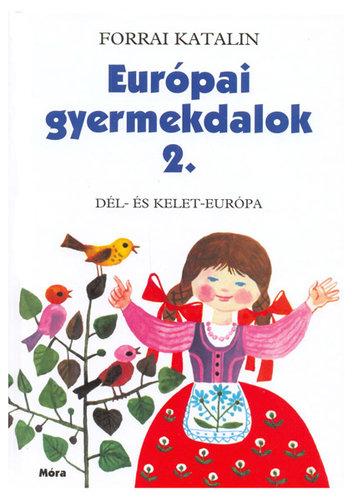 Könyv - Európai gyermekdalok 2.