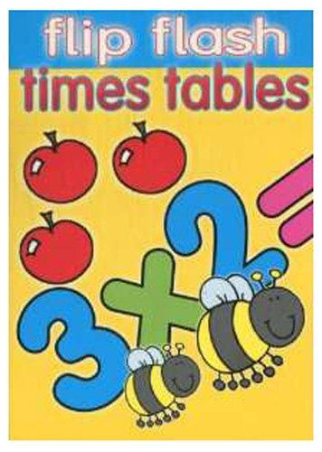 Könyv - Flip flash pads Times tables Szorzótábla - angol nyelvű gyerekkönyv