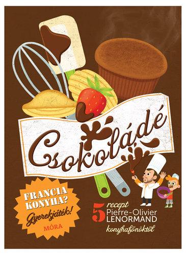 Könyv - Francia konyha - Csokoládé