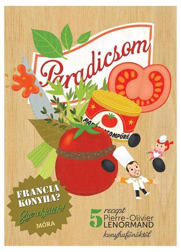 Könyv - Francia konyha - Paradicsom