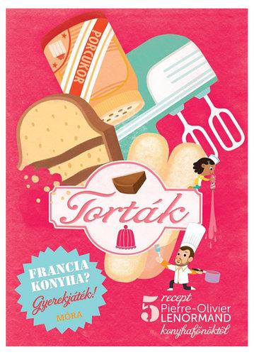 Könyv - Francia konyha - Torták