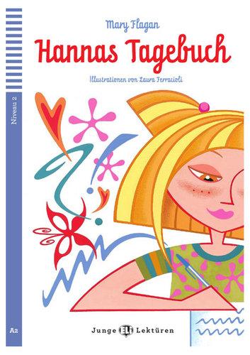Könyv - HANNAS TAGEBUCH + CD - német nyelvű gyerekkönyv