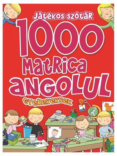 Könyv - 1000 matrica gyerekeknek angolul