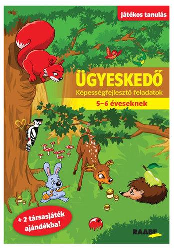 Könyv - Játékos tanulás - Ügyeskedő 5-6 éveseknek