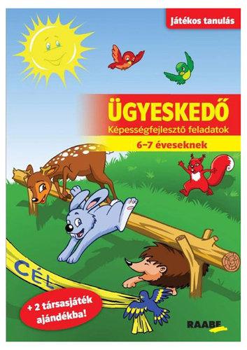 Könyv - Játékos tanulás - Ügyeskedő 6-7 éveseknek