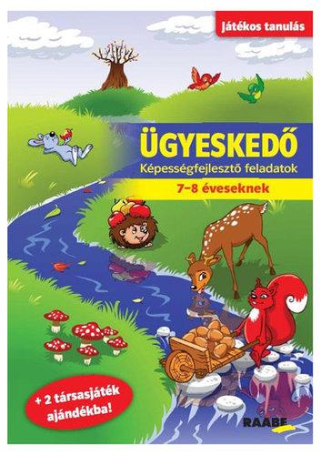 Könyv - Játékos tanulás - Ügyeskedő 7-8 éveseknek