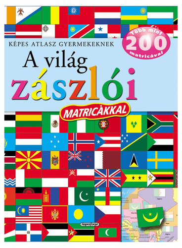 Könyv - Képes atlasz - A világ zászlói