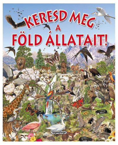 Könyv - Keresd meg a föld állatait!