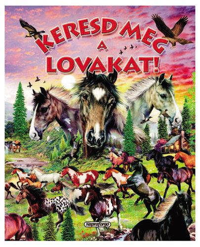Könyv - Keresd meg a lovakat!