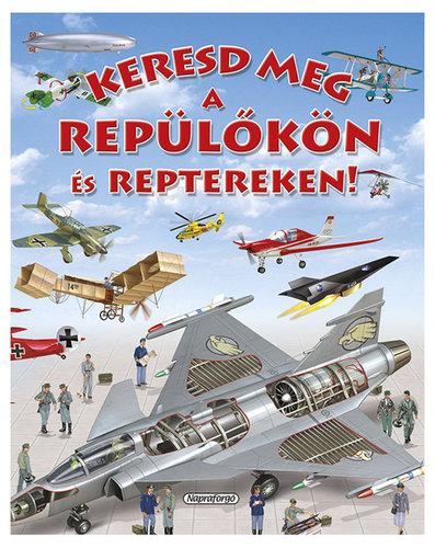 Könyv - Keresd meg a repülőkön és reptereken!