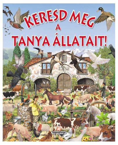Könyv - Keresd meg a tanya állatait!