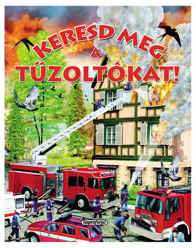 Könyv - Keresd meg a tűzoltókat!
