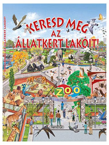 Könyv - Keresd meg az állatkert lakóit!