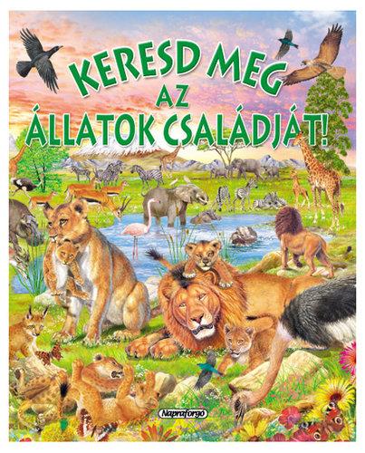 Könyv - Keresd meg az állatok családját!