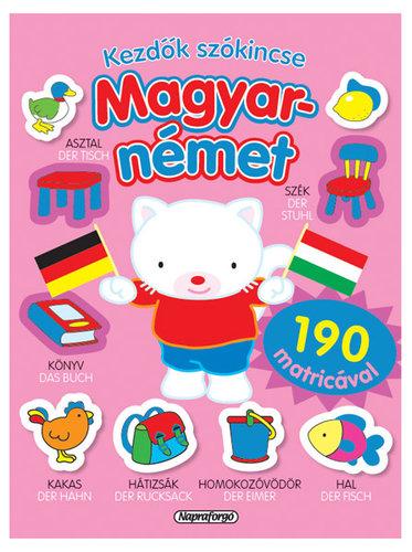 Könyv - Kezdők szókincse - Magyar-német