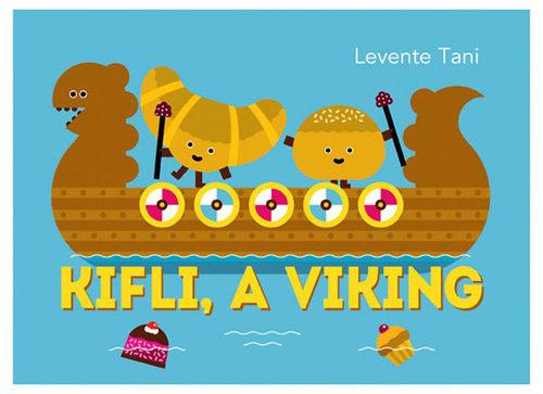 Könyv - Kifli, a viking