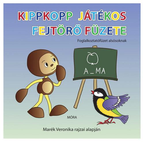 Könyv - Kippkopp játékos fejtörő füzete