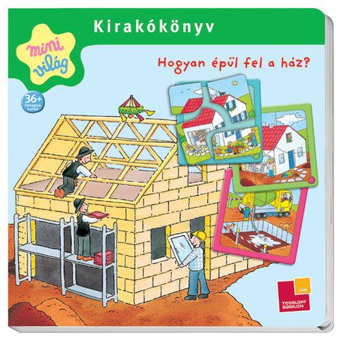 Könyv - Kirakókönyv/Hogyan épül fel a ház?