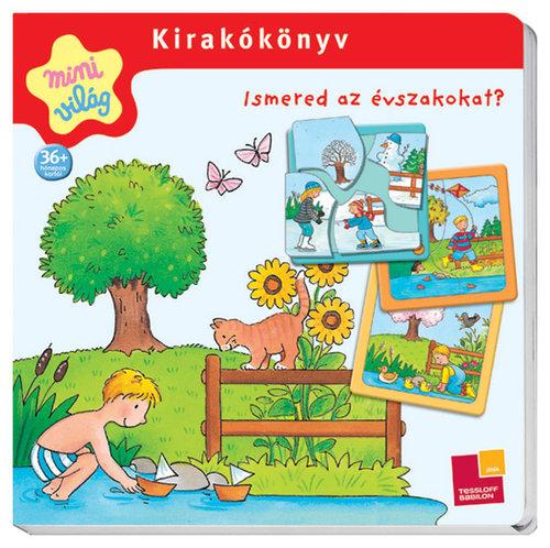 Könyv - Kirakókönyv/Ismered az évszakokat?