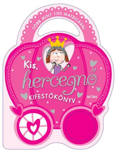 Könyv - Kis hercegnő - Matricás kifestőkönyv