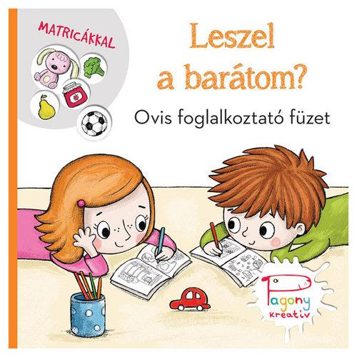 Könyv - Leszel a barátom ? Ovis foglalkoztató füzet