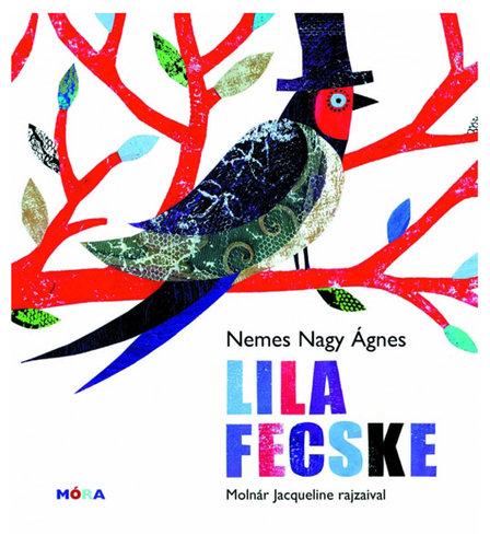 Könyv - Lila fecske