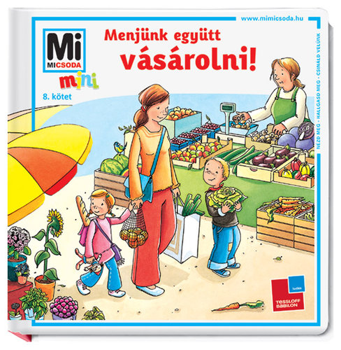 Könyv - Menjünk együtt vásárolni! - MINI