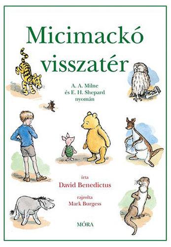 Könyv - Micimackó visszatér